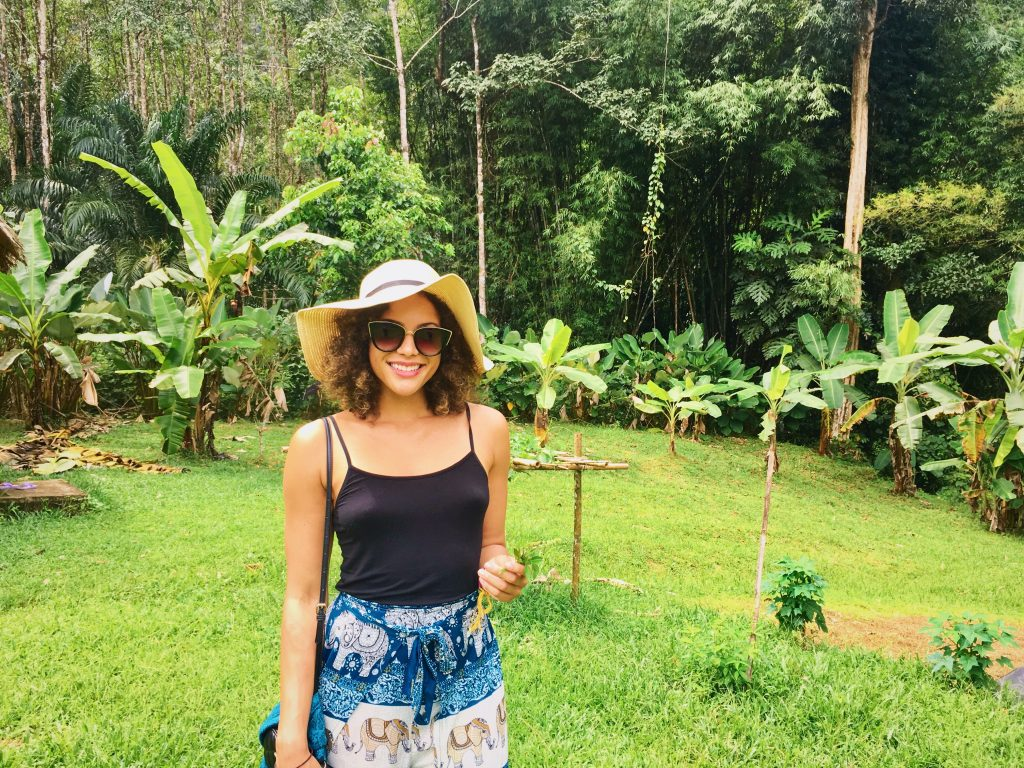 Home-visit to a farm in Khao Sok jungle.