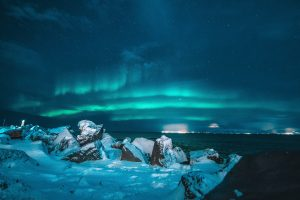 Photo of Iceland northern lights by Nicolas J Leclercq